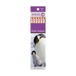 トンボ鉛筆 [鉛筆]かきかた鉛筆 ハローネイチャー コウテイペンギン(硬度:2B) 1ダース KB-KHNEP2B|y-sofmap
