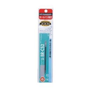 トンボ鉛筆 [ボールペン替芯] 油性ボールペン替芯 BR-CS2 赤 パック (ボール径:0.7mm) FCR-162B|y-sofmap