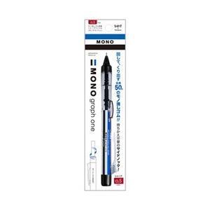 トンボ鉛筆 [シャープペン] 「MONO one」消しゴム搭載シャープペンシル モノグラフワン モノカラー (芯径:0.5mm) DCD-121A [振込不可]|y-sofmap
