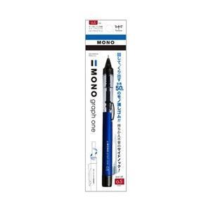 トンボ鉛筆 [シャープペン] 「MONO one」消しゴム搭載シャープペンシル モノグラフワン ブルー (芯径:0.5mm) DCD-121B|y-sofmap