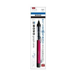 トンボ鉛筆 [シャープペン] 「MONO one」消しゴム搭載シャープペンシル モノグラフワン ピンク (芯径:0.5mm) DCD-121D|y-sofmap