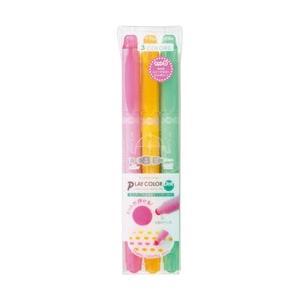 トンボ鉛筆 [水性サインペン]プレイカラードット 3色セットB GCE-311B|y-sofmap