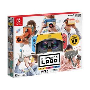 ダンボールを組み立て、Nintendo Switchと合体させて体感ゲームが楽しめる「Nintend...