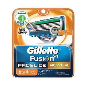ジレット ジレット フュージョン 5+1 プログライド フレックスボール パワー 替刃 4個入