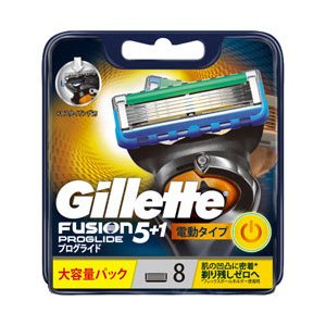 ジレット ジレット フュージョン 5+1 プログライド フレックスボール パワー 替刃 8個入