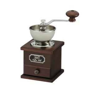 好みに合わせて豆を挽く、メリタ製クラシックタイプのコーヒーミル。