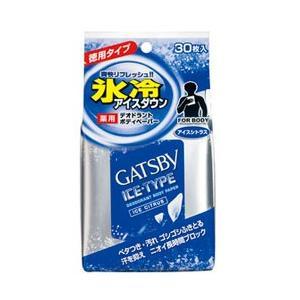 マンダム 【GATSBY(ギャツビー)】アイスデオドラントボディペーパーアイスシトラス徳用30枚〔デ...