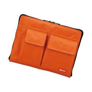 リヒトラブ バッグインバッグ A5 橙