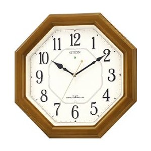 シチズン 電波掛け時計 「ネムリーナルック」 4MY645-006|y-sofmap