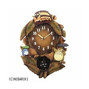 リズム時計 4MJ837MN06 掛け時計 「となりのトトロ」|y-sofmap