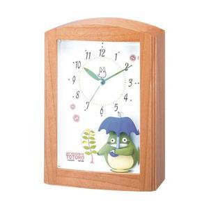 リズム時計 目覚まし時計 「となりのトトロ」 4RM752MN06|y-sofmap