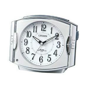 リズム時計 4RK411-019 (シルバーメタリック) 電波目覚まし時計 「ネムリーナ」|y-sofmap