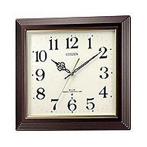 リズム時計 4MY803-006 電波掛け時計 「八坂」|y-sofmap
