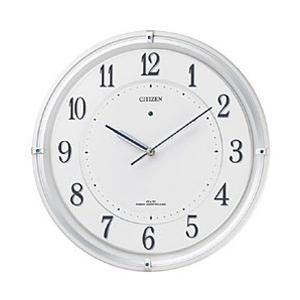 リズム時計 電波ソーラー掛け時計 「サイレントソーラーM817」 4MY817-003 [振込不可]|y-sofmap