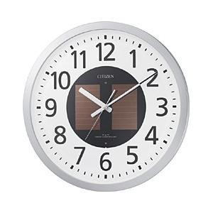 リズム時計 電波ソーラー掛け時計 「エコライフM815」 4MY815-019|y-sofmap