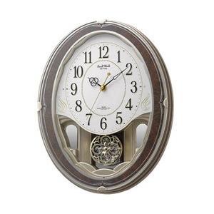 リズム時計 電波からくり時計 「スモールワールドハイム」 4MN520RH23|y-sofmap