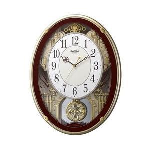 リズム時計 電波からくり時計 「スモールワールドプラウド」 4MN523RH06|y-sofmap