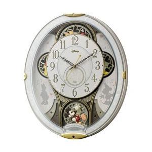 リズム時計 電波からくり時計 「ミッキー&フレンズM509」 4MN509MC03 y-sofmap