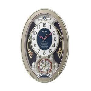 リズム時計 電波からくり時計 「スモールワールドウイッシュ」 4MN543RH18 y-sofmap