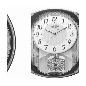 リズム時計 電波からくり時計 「スモールワールドレジーナ」 4MN540RH06 [振込不可]|y-sofmap