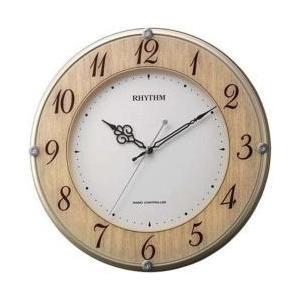 リズム時計 電波掛け時計 「ライブリーナチュレ」 8MY506SR23 [振込不可]|y-sofmap