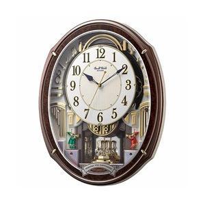 リズム時計 電波からくり時計 「スモールワールドアルディ」 4MN545RH23 y-sofmap