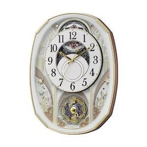 リズム時計 電波からくり時計「スモールワールドノエルS」 4MN551RH03 4MN551RH03 y-sofmap