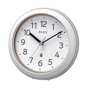 リズム時計 強化防滴・防塵型 掛け時計 掛置き兼用 「アクアパークDN」 4KG711DN08|y-sofmap
