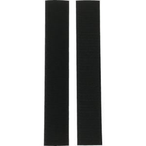 ユタカメイク ユタカメイク マジックテープ アイロンワンタッチ 25mm×15cm ブラック