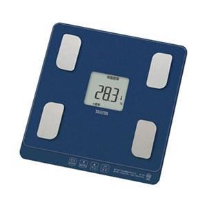 タニタ 【体組成計・体脂肪計付き】体重計 BC-758-BL ナイトブルー