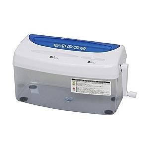 アイリスオーヤマ クロスカットハンドシュレッダー(A4サイズ/CD・DVD・カードカット対応) H1ME