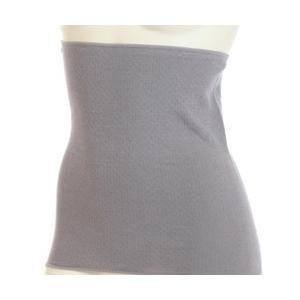 女性の冷え対策に!簡単温活アイテム。 お肌にやさしい綿100%、35cm丈の腹巻。丸編みで、脇に縫い...