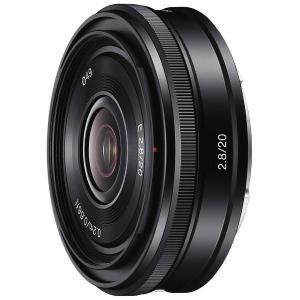 20mm(35mm換算で30mm)という扱いやすい画角とF2.8の明るさを実現した、Eマウントレンズ...