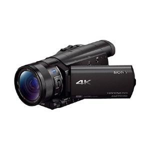 ソニー Handycam FDR-AX100 BC ブラック (4Kハンディカム/内蔵メモリーなし/...