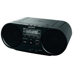 ソニー CDラジオ(ブラック) ZS-S40 B...の商品画像
