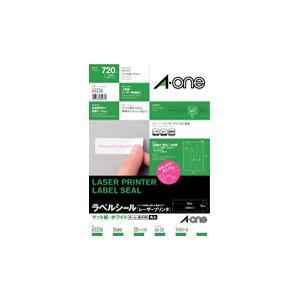 A-one 65236 (ラベルシール/レーザープリンタ/A...