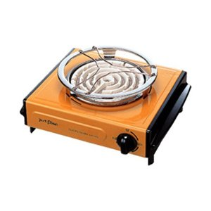 マクセルイズミ 電気コンロ (600W) IEC-105-D オレンジ (IEC105)