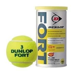 ダンロップ プレッシャーライズド テニスボール FORT(2個入り) DFDYL2TIN