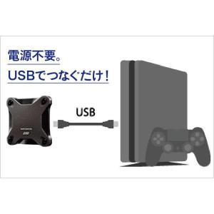 アイ・オー・データ機器(I・O DATA) PS4対応 外付けSSD 480GB [HNSSD-480BK] [PS4] y-sofmap 04