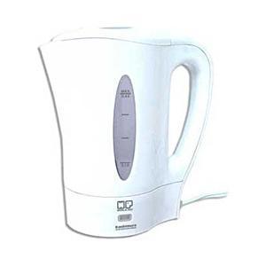 全世界対応の湯沸器。サーモスタット、温度ヒューズ内蔵の安全安心設計。便利なミニコップ2個付き。