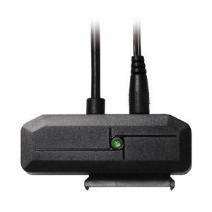 各種HDD/SSDをUSBコネクターに接続して簡単データ転送