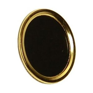 オウルテック 指紋認証機能付きホームボタンカバー ゴールド/ブラック BKS-HBIP01-GOB 【ビックカメラグループオリジナル】|y-sofmap