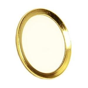 オウルテック 指紋認証機能付きホームボタンカバー ゴールド/ホワイト BKS-HBIP01-GOW 【ビックカメラグループオリジナル】|y-sofmap