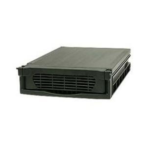 ハードディスクを手軽にリムーバブル 安全に快適にハードディスクの交換が実現できる。(ブラック・ショー...