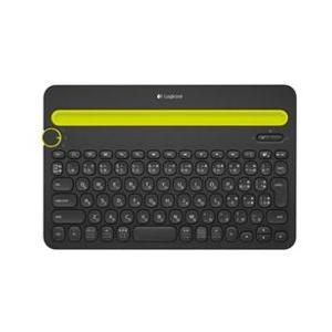 ロジクール ワイヤレスキーボード[Bluetooth・Android/iOS/Mac/Win/Chr...