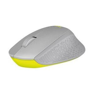 logicool(ロジクール) M331GR マウス グレー/イエロー  [光学式 /3ボタン /U...