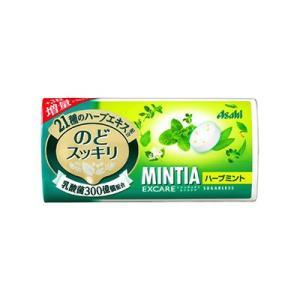 アサヒグループ食品 MINTIA(ミンティア) エクスケア ハーブミント(28粒)