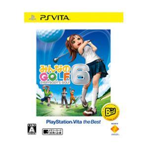 ソニー・インタラクティブエンタテインメント みんなのGOLF 6 PlayStation Vita the Best 【PS Vitaゲームソフト】 y-sofmap