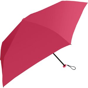 中谷 【折りたたみ傘】超軽量折り畳み傘 無地 839001 ローズ [50cm]