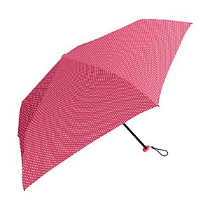 中谷 【折りたたみ傘】超軽量折り畳み傘 ピンドット 839002 ローズ [50cm]
